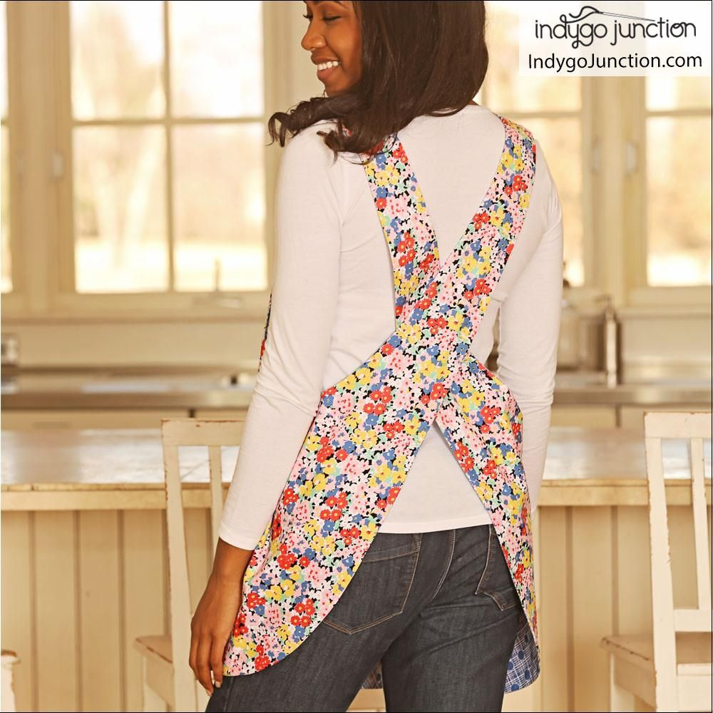 Crossback Reversible Adult and Child Apron Pattern | LOVE total ...