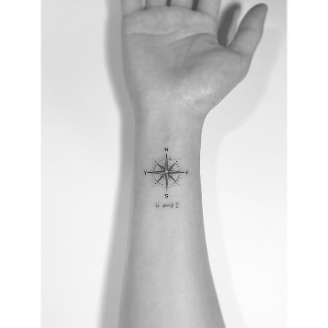 Photo of . . Boussole. . #tattoo #tattoos #art #design #illustration