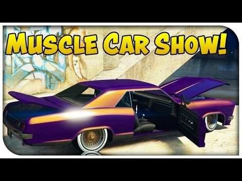 Gta V Muscle Car Show Youtube Go Check Out My Hubby New Muscle