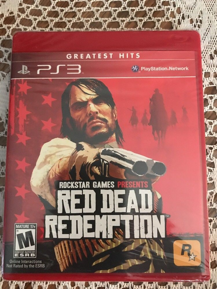 Red Dead Redemption Sony Playstation 3 Ps3 New And Factory