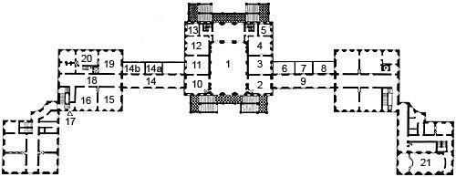 grundrisse schloss nymphenburg pal ste pinterest schloss nymphenburg grundrisse und. Black Bedroom Furniture Sets. Home Design Ideas