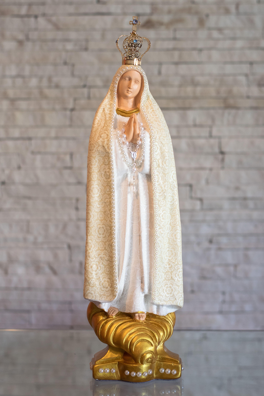 Concepção de Nossa Senhora FÃtima com coroa e preço http://ift.tt/2B3JVDZ