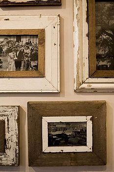 Reclaimed Wooden Large Photo Frame By Moa Design Rustic Photo Frames Rustic Frames Photo Frame Display
