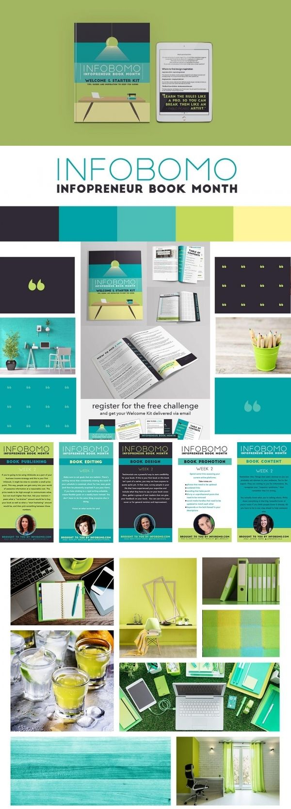 Online Course Brand Identity Design for InfoBoMo (Infopreneur Book ...