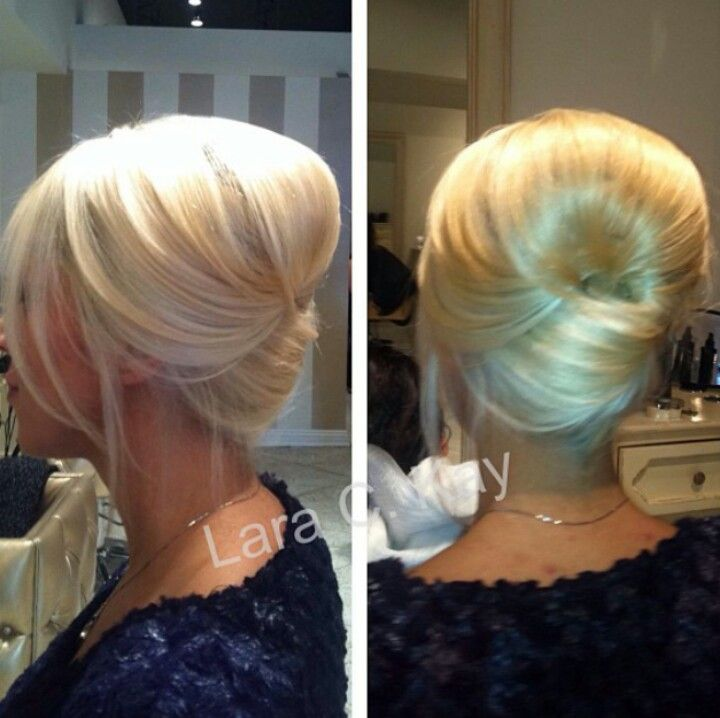 French Twist Wedding Hairstyles: Easy Updos: Easy Updo - Modern French Twist