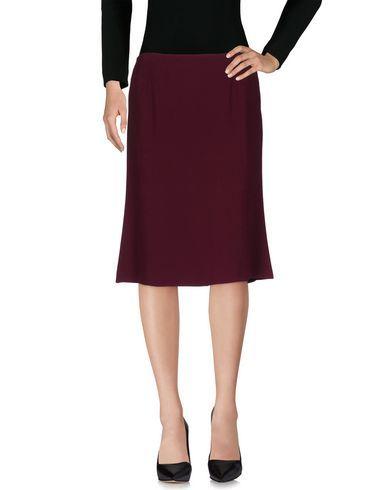 L' AUTRE CHOSE Women's 3/4 length skirt Purple 8 US