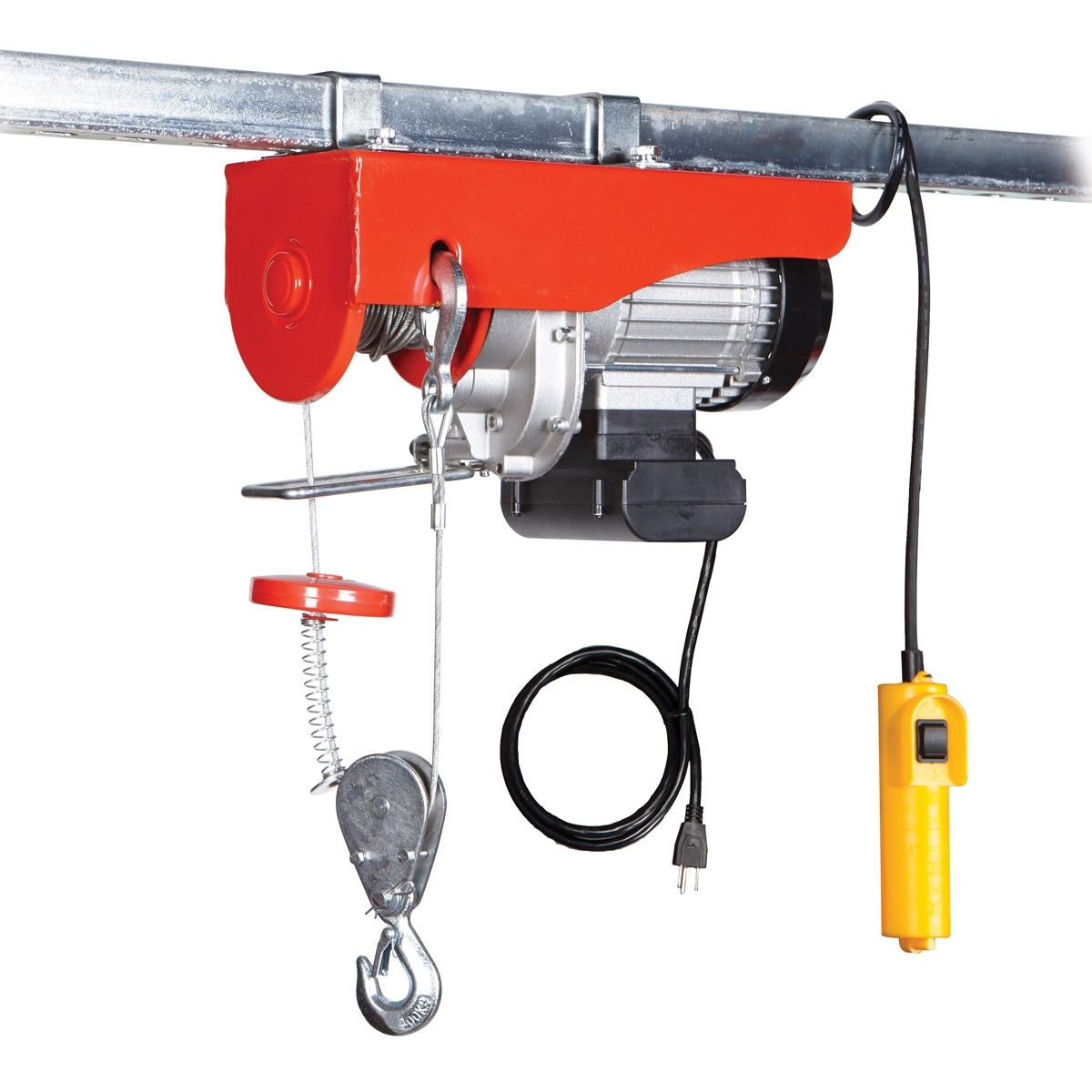 880 lb. Electric Hoist with Remote Control Garage lift