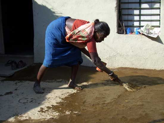 Cow Dung A Resource For Many Household Cleanliness Gult Post Simplicity Is Beauty Household Nature Beauty
