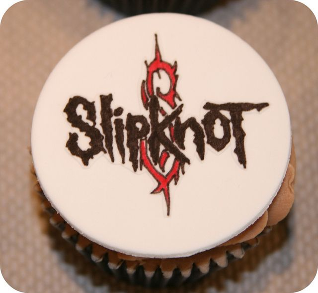 Heavy Metal Cupcakes - Slipknot