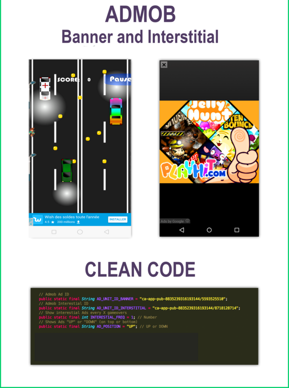 Try To Jaywalk! - Game Template Android With Admob (Android Studio +