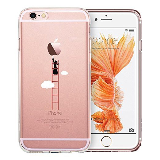 ef89a44eda9 iPhone 6/6s Funda, ESR Suave Carcasa iPhone 6/6s Case Cover Silicona ...