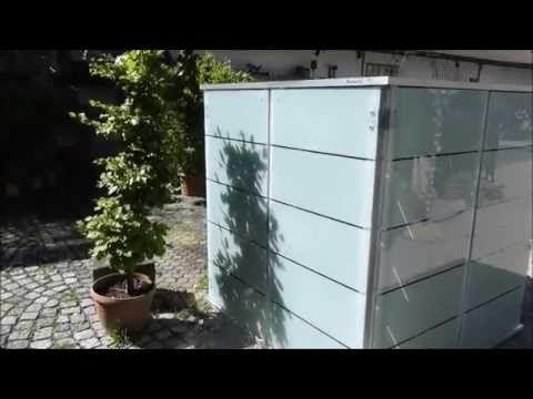 Gartenhaus Flachdach neu durchdacht! Mehr Ordnung und