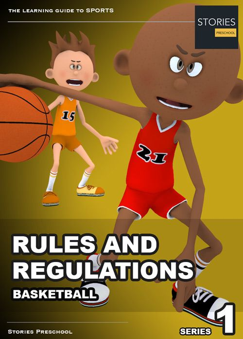 Basketball Rules And Regulations Ibook Stories Preschool Sport Thema