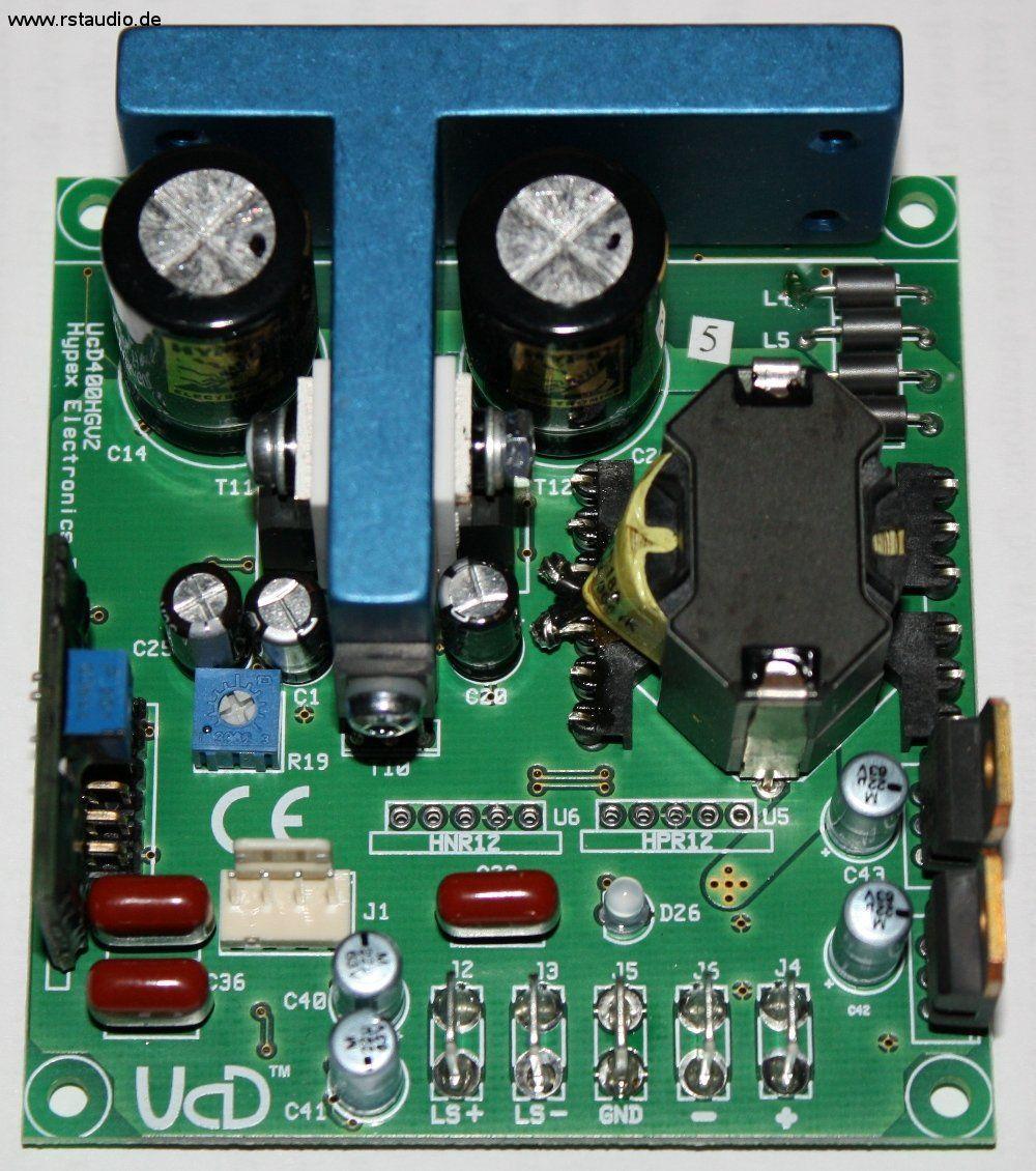 Hypex Ucd400hg Top View Power Amplifiers Pinterest 170w Class D Amplifier Schematic Diagram