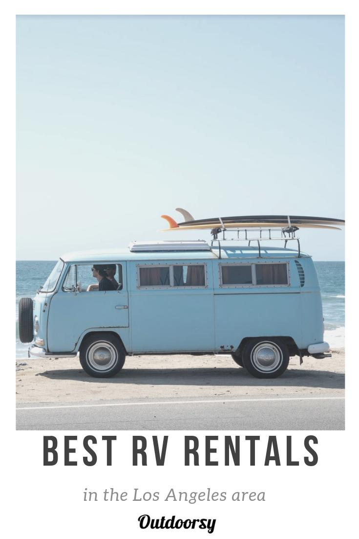 Van Life Best Rentals In The La Area Rv Rental Motorhome Rentals Rental