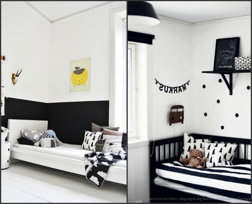 Black And White Kids Rooms Boy Bedroom Design