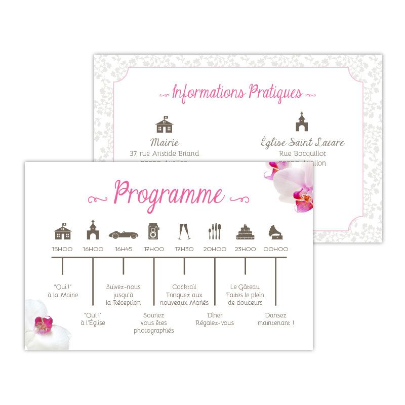 Programme Orchidée