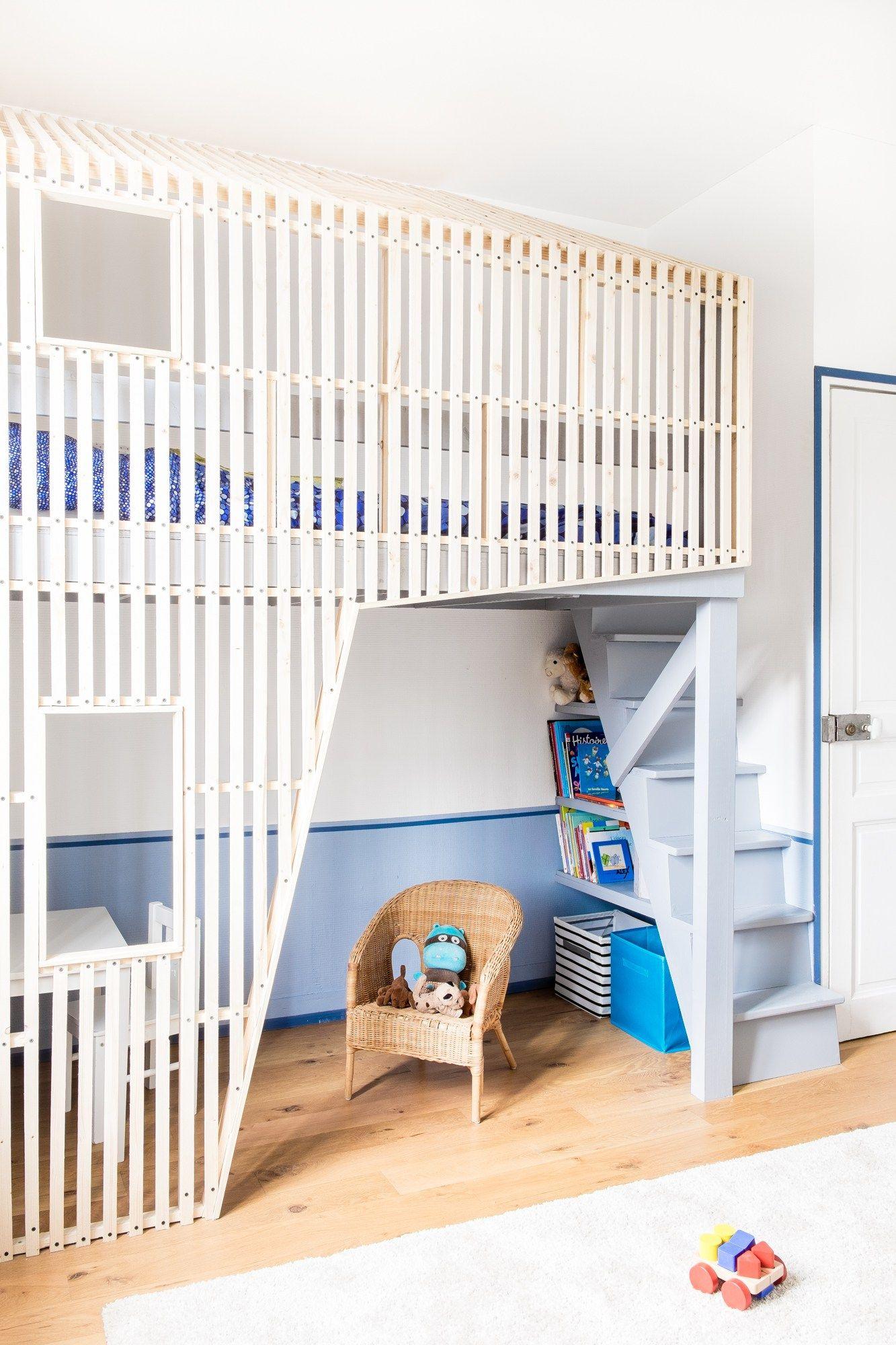 cabane-enfant-bois-chambre-design | loft | Pinterest | Kinderzimmer ...