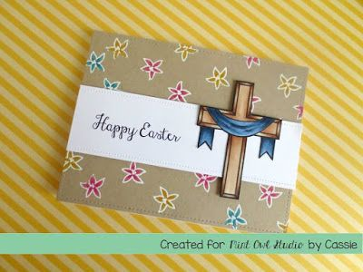 Easter Card religious easter card stamping stamps card making – Easter Stamps Card Making