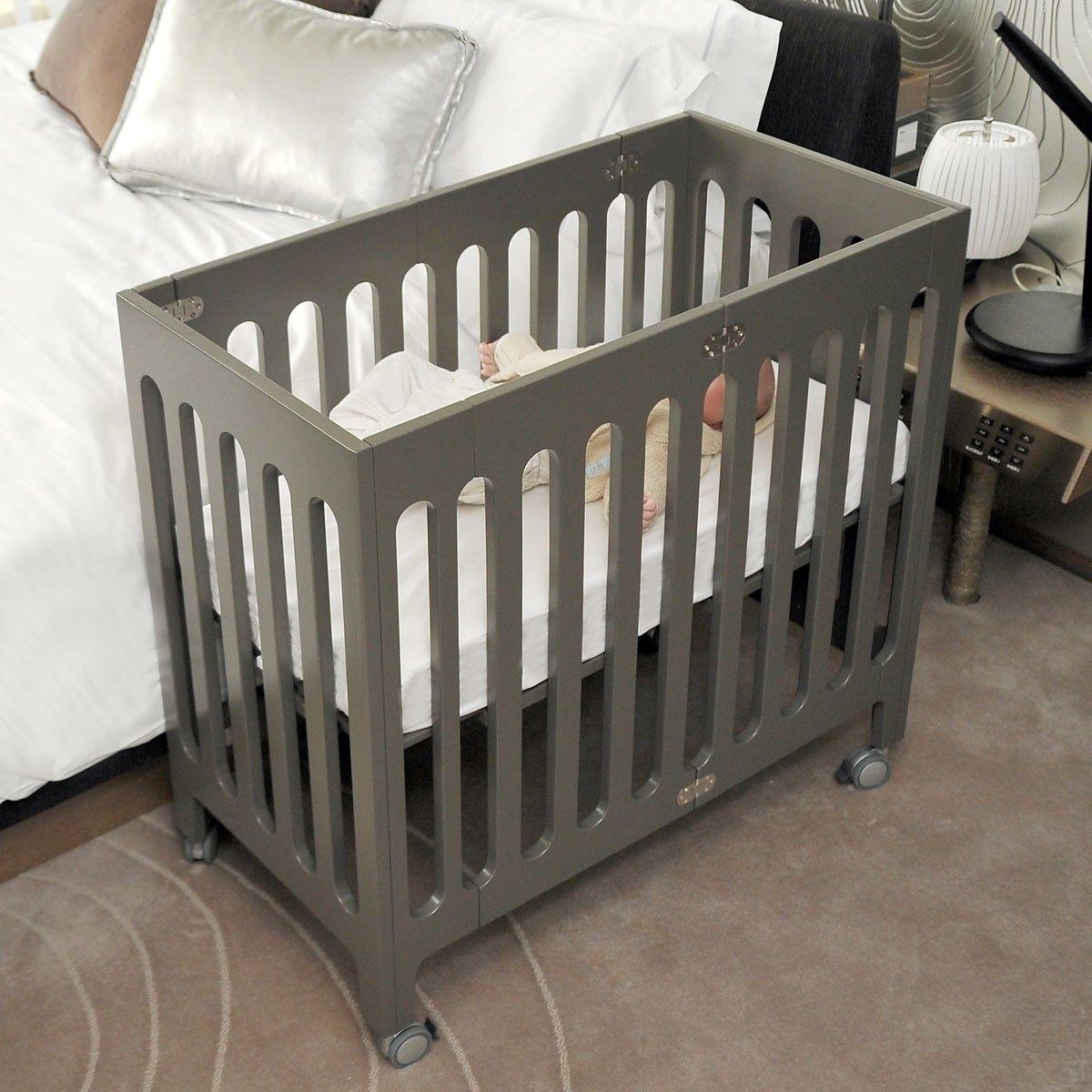 bloom  luxo sleep krevetac  oprema za bebe  baby bell  bloom  - bloom alma crib  great for cosleeping or just pulling close to your bed