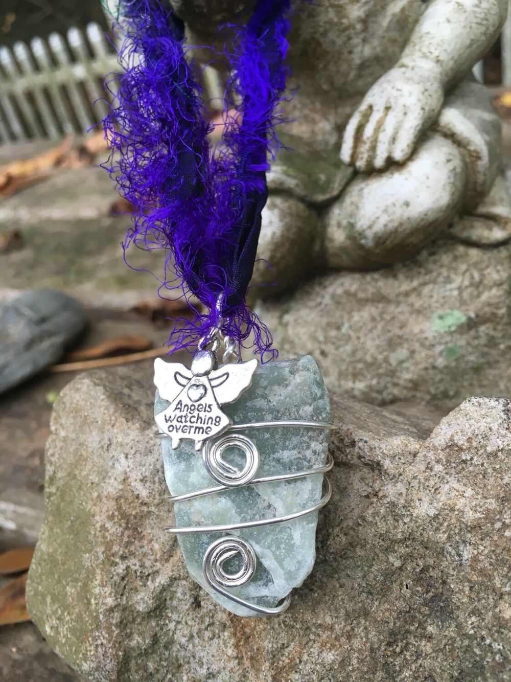 Custom wire-wrapped crystal ornaments, Reiki infused:  https://www.etsy.com/listing/261166855/custom-wire-wrapped-crystal-ornament  You will receive one gorgeous handcrafted crystal ornament/adornment.  The crystal is a color enhanced Quartz, I will intuitively and artistically choose the color.  If you have a strong color preference, please let me know in the checkout or in a private message, and we'll communicate about your options.   I will wire wrap it, apply the charm of your choice…