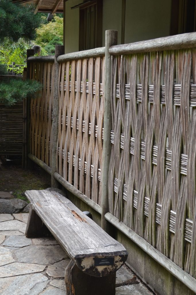 Japanese Garden Fence Design japanese bamboo fence Bamboo Fencing At Portlands Japanese Garden