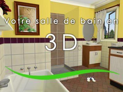 Salle de bain architecte 3d Idées pour la maison Pinterest - Dessiner Maison D Gratuit