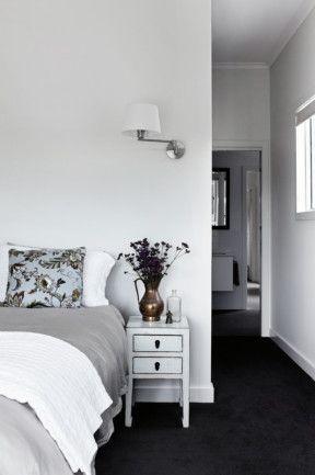 Dark Carpet Black Carpet Bedroom Grey Bedroom With Pop Of Color Dark Grey Carpet Bedroom