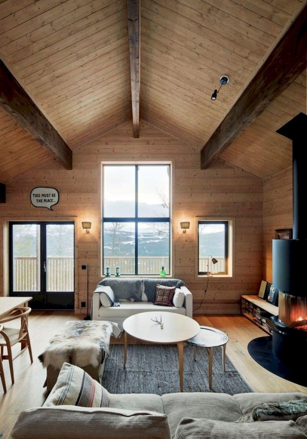 Beautiful Scandinavian Interiors For Your Home Cabin Interior Design Traditional Interior Design Scandinavian Interior
