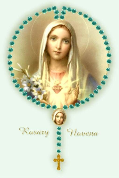 Download Mother Mary With Rosary Pictures