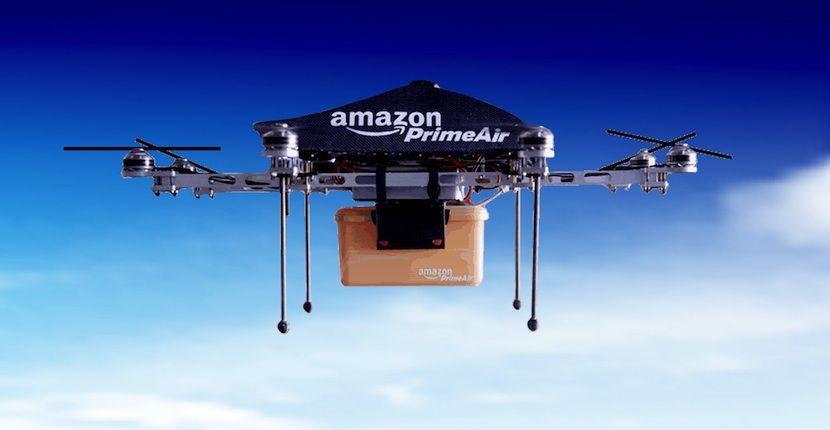Los drones de Amazon tendrán capacidad para esquivar flechas - http://www.hwlibre.com/los-drones-amazon-tendran-capacidad-esquivar-flechas/