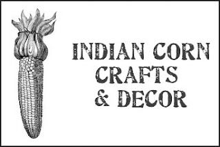 Indian corn crafts & decor for Autumn