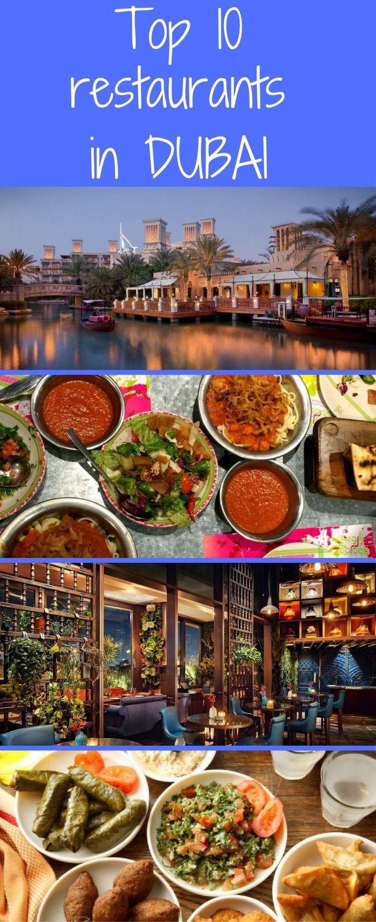 Dubai Restaurants Dubai vacation, Best restaurants in