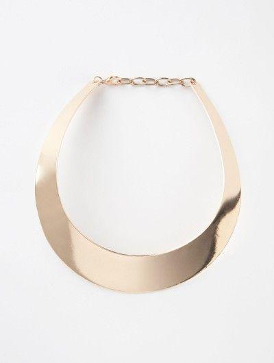 Metal Collar Necklace