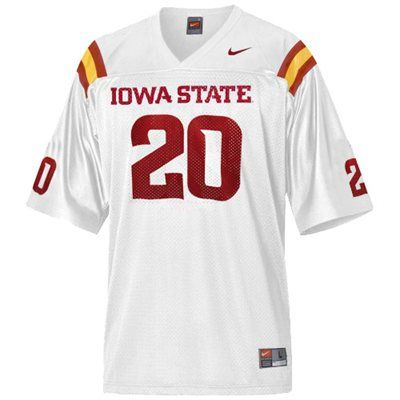 best service c288a 41320 Iowa State Cyclones Nike Football Jersey - White Color ...