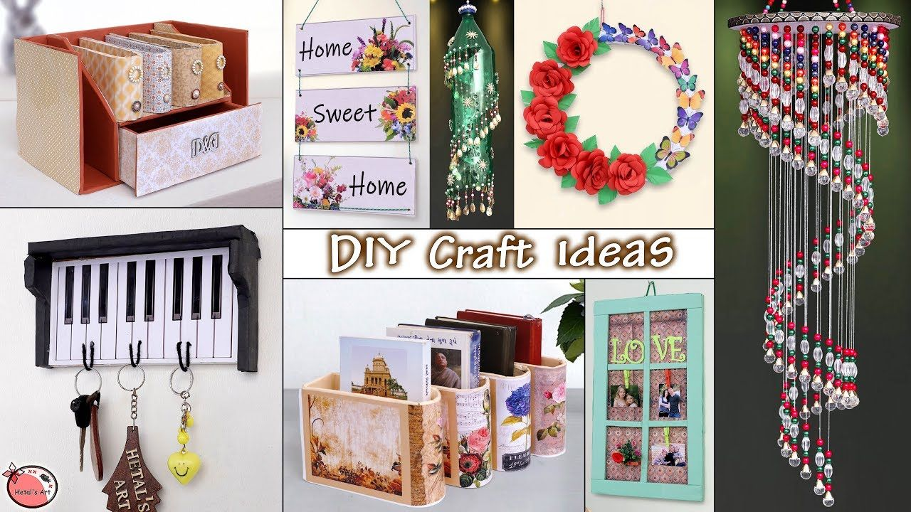 10 Easy Fast Home Decor Craft Ideas You Should Try Decor Crafts Crafts Diy Arts And Crafts