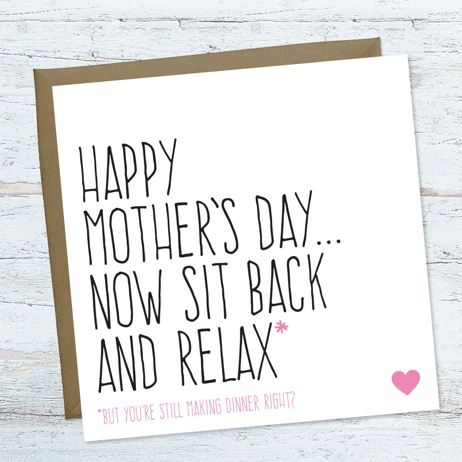 Mothers Day Card Funny Mother S Day Card For Mum Mom Etsy Funny Mothers Day Funny Mother Happy Mothers Day