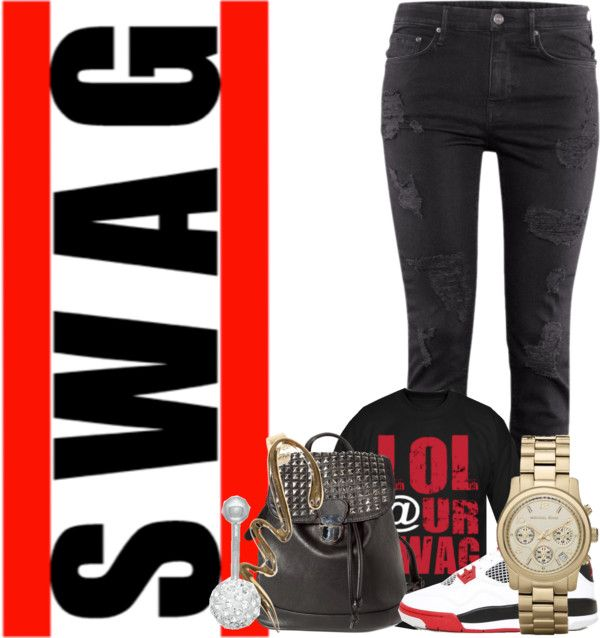 """""""Swag"""" by taylorsomindless ❤ liked on Polyvore"""
