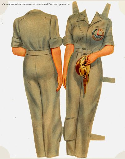 Girls in Uniform 1943 Pachrter Co - Bobe Green - Álbumes web de Picasa