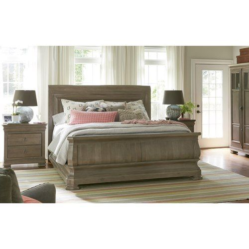 Reprise Bed Transitional In 2019 Sleigh Beds Hudson