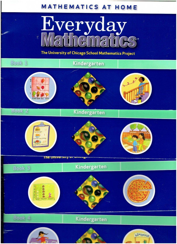 Workbooks everyday math workbook : Everyday Mathematics K Mathematics at Home Books 1-4 ©2007 ...