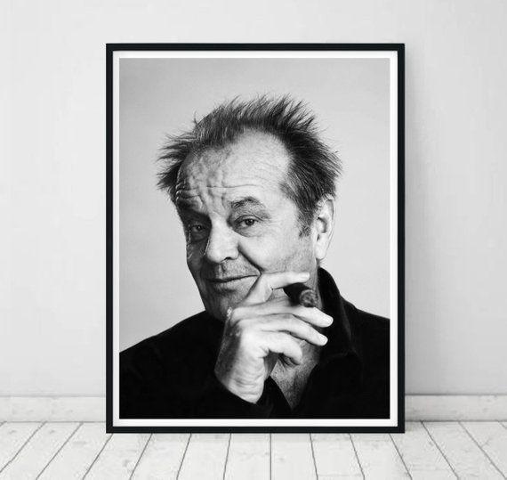 Jack Nicholson Art • Jack Nicholson Poster Jack Nicholson