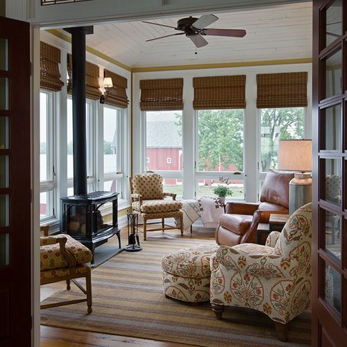 Houzz Home Design Ideas: Sunroom Design Ideas , Remodels & Photos