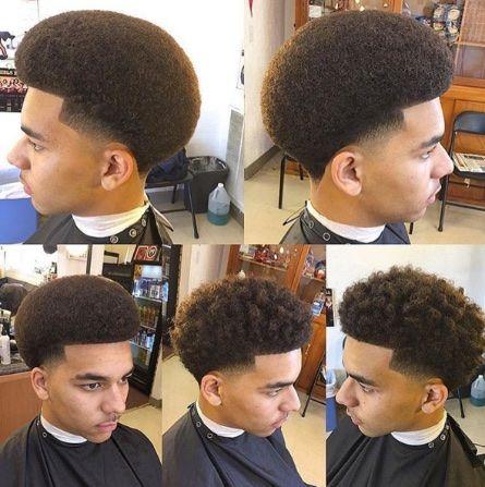 big afro with curl sponge twist