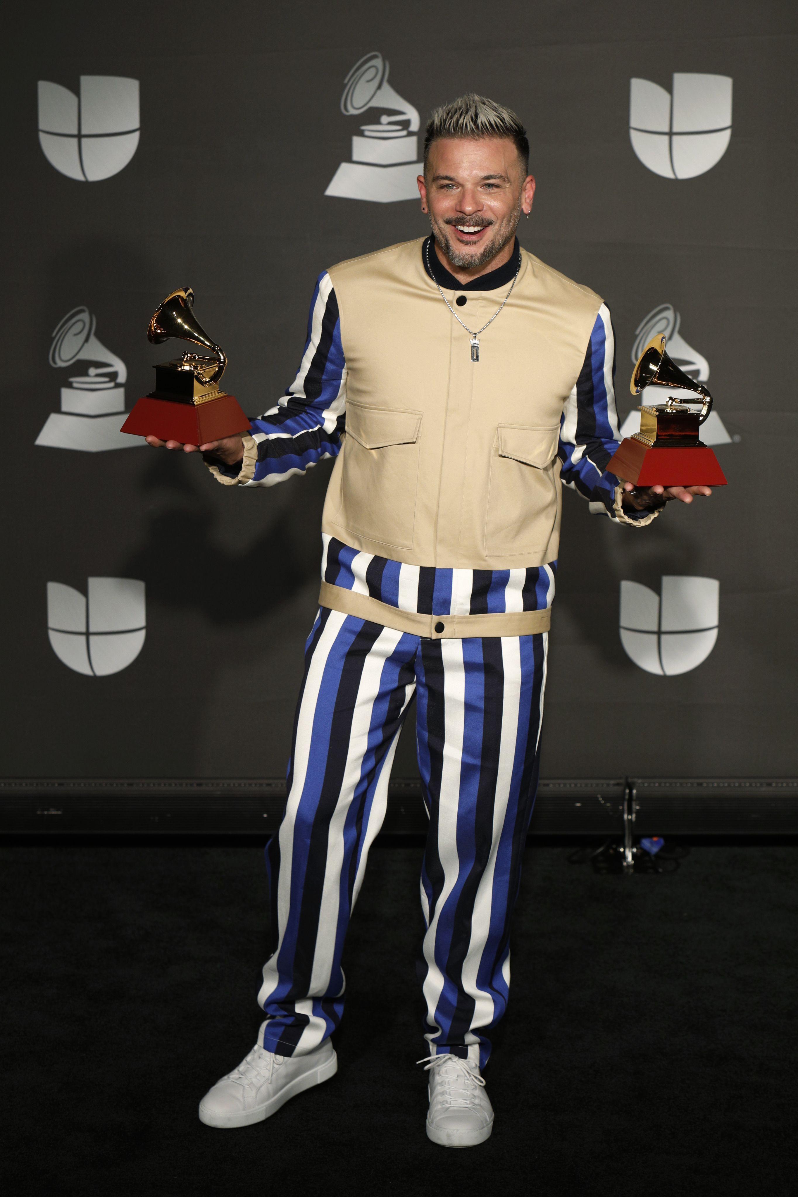 Pedro Capó at the 20th Annual Latin Grammy Awards, Las