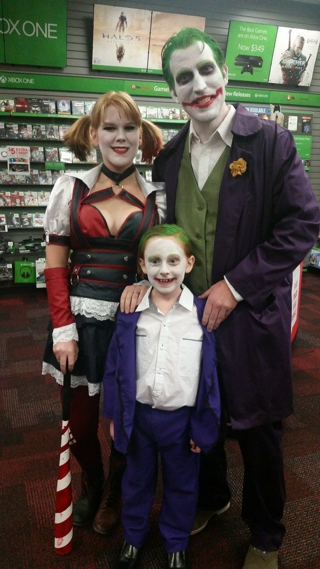 explore family halloween costumes halloween fun and more harley quinn and the - The Joker And Harley Quinn Halloween Costumes