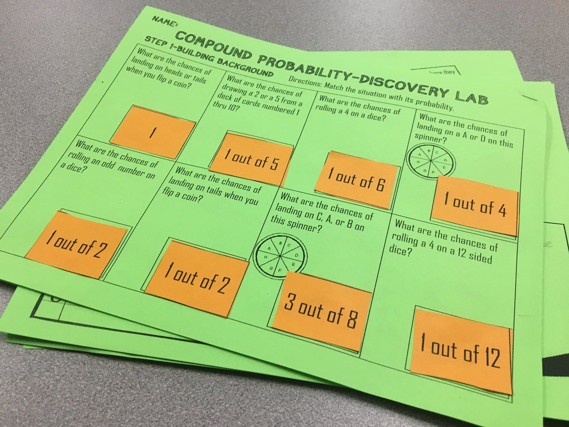 Teaching Compound Probability With Discovery