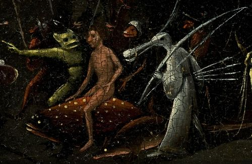 Hieronymus Bosch The Garden Of Earthly Delights Right Panel C