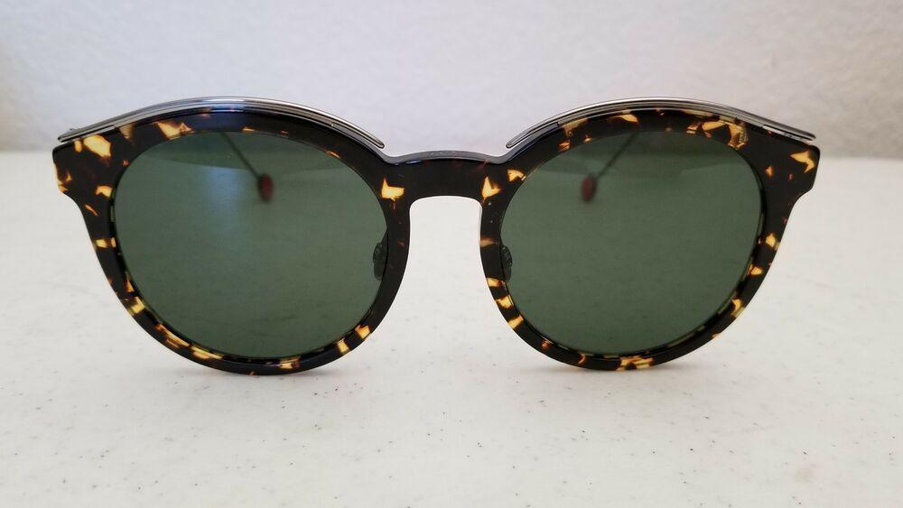 c652cd5192e8  69.95 Christian Dior Blossom Sunglasses OM785 52  20 145 Tortoise Frame  Black Lenses  Oval