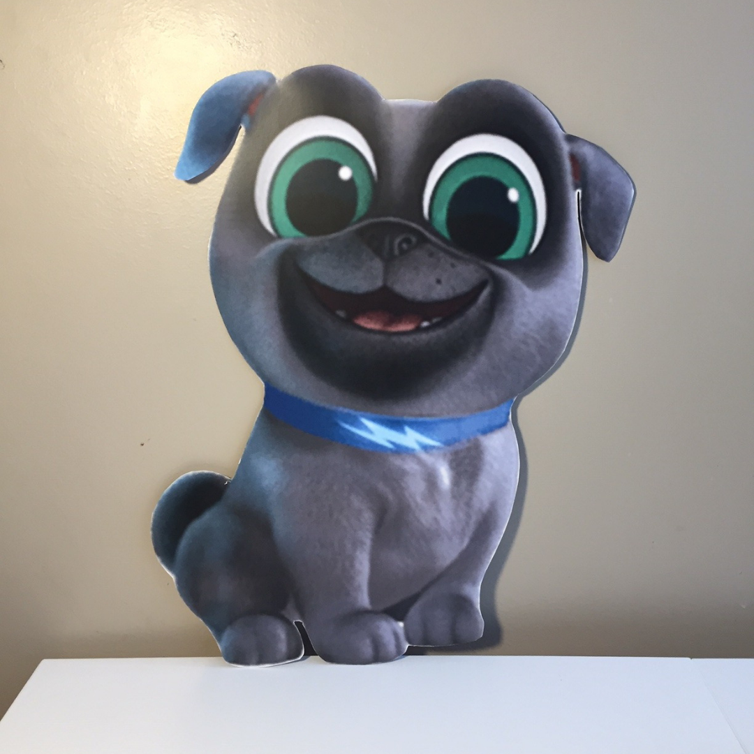 Puppy Dog Pals Character Cutout Puppy Party Supplies Kids Birthday Party Planning Puppy Birthday Parties [ 1080 x 1080 Pixel ]